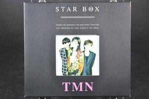 べスト盤☆ TMN STAR BOX ■99年盤 14曲収録 CD BEST アルバム ESCB-1951 TM NETWORK / TMネットワーク 宇都宮隆,木根尚登,小室哲哉 美盤!!