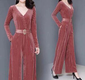 オールインワン サロペット 薄い 韓国ファッション オーバーオール ベビーピンク