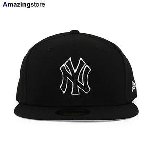 ツバ裏グレー 8 ニューエラ 59FIFTY ニューヨーク ヤンキース MLB TEAM-BASIC FITTED CAP NEW ERA NEW YORK YANKEES nr11941966-800