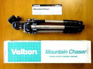 【三脚】ベルボン マウンテンチェイサー/Velbon Mountain Chaser★箱 取扱説明書★ゆうパック80サイズ