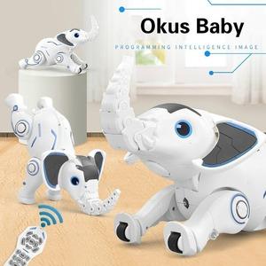 象のロボットおもちゃ RC ペット スマートロボット プログラミング 象 ロボットおもちゃ 歌う ダンス RC 動物のおもちゃ ギフト