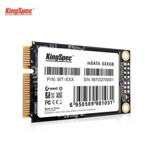 送料無料!KingSpec SSD mSATA 512GB 内蔵型 MT-128 3D 高速 3D NAND TLC デスクトップPC ノートパソコン DE023