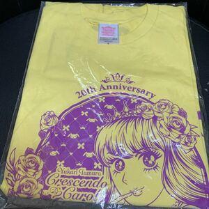 Tamura Yukari 20th Anniversary Love Live 2017 * CRESCENDOCAROL * T-shirt S Size