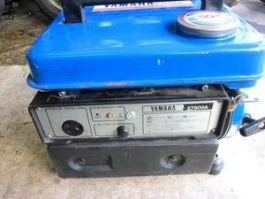 ヤマハ発電機ET-600A(ET-600A)エンジン始動確認済み(難あり)