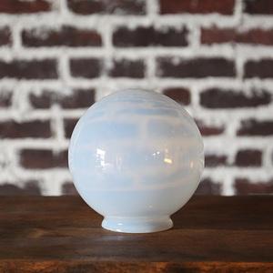 オパールセント ガラスシェード ランプシェード ブルーグラス OPALESCENT GLOVE SHADE アンティーク ヴィンテージ インテリア