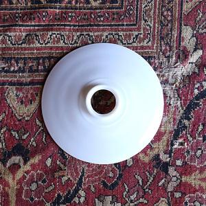 ミルクガラス ガラスシェード ランプシェード シェード 1920年 アンティーク ヴィンテージ oc white
