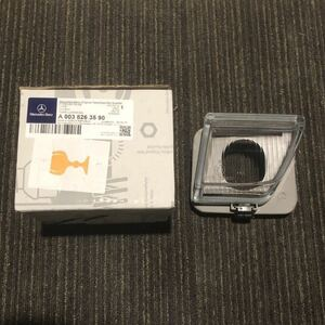 【未使用 新品】ベンツW124E500E R129純正フォグランプ レンズ左のみフォグライト300SL500SL600SL6.0AMG fog light lense genuine左側left