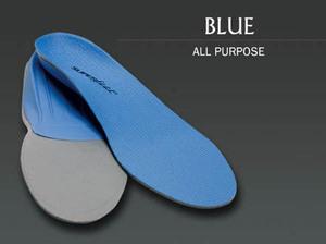 《万能/スタンダードモデル》SUPERfeet【BLUE/ブルー】 C (23~25cm) スーパーフィート インソール 中敷 スノーボード スキー スポーツ全般