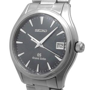 セイコー グランドセイコー メンズ SBGX007 9F62-0A10 クォーツ QZ デイト 濃紺文字盤 SEIKO GS