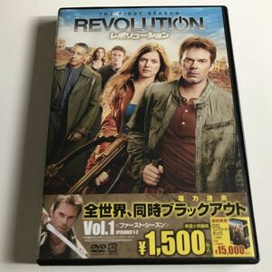 DVD「レボリューション Vol.1」 ビリー・バーク, トレイシー・スピリダコス, ジャンカルロ・エスポジート セル版