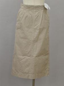 ユナイテッドアローズ UNITED ARROWS green label relaxing SCガーメントダイタイトスカート 38サイズ ベージュ レディース F-M11934