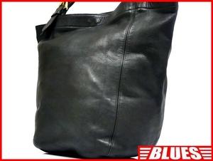 即決★米国製 COACH★オールレザートートバッグ オールドコーチ メンズ 黒 本革 ハンドバッグ 本皮 かばん トラベル カバン 鞄 レディース