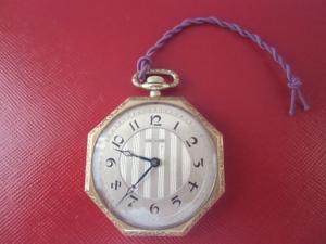 懐中時計 手巻き THE ROSE K14金 スイス  稼働品