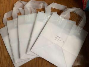 AOKI5号ケーキ手提げ袋ノベルティお菓子23×19×25お土産プレゼント用クリアバッグクラウディエコバックデザートお菓子ギフトホールケーキ