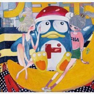【ED50】doki doki donpen タカノ綾 takano aya 村上隆 カイカイキキ 版画 シルクスクリーン