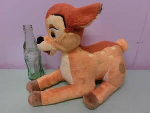 ディズニー バンビ◆USAディズニーストア ぬいぐるみ 人形 ビンテージ 33cm◆BAMBI Disney Store Vintage Stuffed Plush 昭和レトロ 鹿