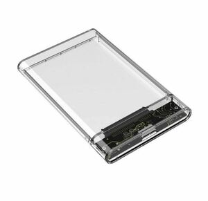2.5インチ HDD SSD 外付けケース SSD 透明 USB3.0