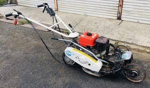 オーレック 自走式草刈機 スーパーウイングモア WM1107 ロータリモーア あぜ草刈機【清掃/整備済み】