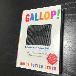 仕掛け絵本 英語 GALLOP!