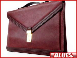 即決★BALLY★ビジネスバッグ バリー メンズ 赤茶 ブラウン かばん 通勤 ダイヤルロック ショルダーバッグ 出張カバン 2way 鍵付き鞄 書類