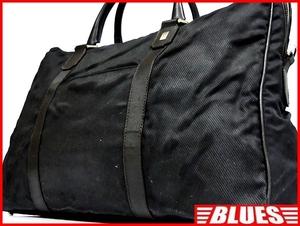即決★イタリア製 dunhill★レザーコンビビジネスバッグ ダンヒル メンズ 黒 ブラック 本革 かばん 本皮 ショルダー 通勤 カバン 出張 鞄