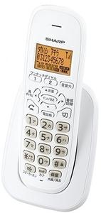 シャープ 増設子機 コードレス電話機 JD-KE100(JD-KS120同機能品)訳あり(取説、元箱なし)特価!