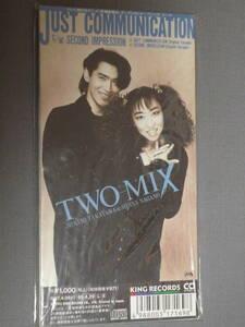 K07 TWO-MIX JUST COMMUNICATION [CDシングル8cm]
