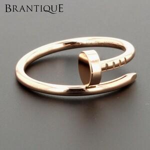 Cartier カルティエ 指輪 ジュストアンクルリング Juste un Clou ring ピンクゴールド 750PG #53 3.5g 保証書/箱/袋付
