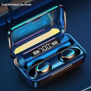 ワイヤレス イヤホン 黒 送料無料 新品 ヘッドセット Bluetooth 防水 モバイルバッテリー 電話 通話 ハンズフリー イヤフォン