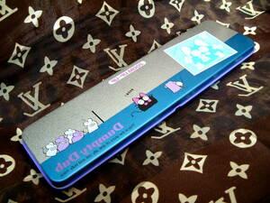 青銀◆昭和レトロ 廃盤 ペンケース Dumpty Dub  ねこ ねずみ 缶ペン 筆箱 トンボ鉛筆 1970年代 1980年代 未使用 文房具