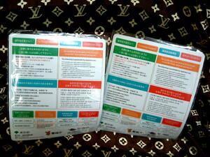 ◆ 非売品 警視庁 東京都 青少年治安対策本部 東京入国管理局 マウスパッド 2枚 未使用 JUNK
