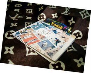 ◆ 珍品 昭和 レトロ ミニミニ 切手 ストック ブック アルバム 1970年代