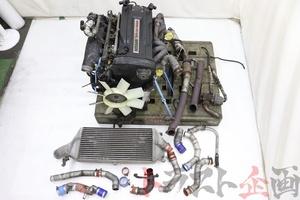 5253301 RB26DETT エンジンAssy TD05-16G ツインターボキット スカイライン GT-R ニスモ BNR32 前期 トラスト企画 送料無料