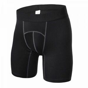 送料無料 新品 ランニングウェア インナー ショーツ メンズ XLサイズ ブラック パンツ トレーニング スポーツ アウトドア 加圧 6015