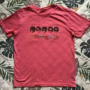 送料無料 嵐 Tシャツ 2013 アラフェス ARASHI USED 送料込み