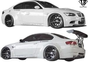 【M's】 E92 BMW M3 クーペ (2007y-2013y) LB-WORKS Ver.1 コンプリートボディキット 3点 / CFRP+ FRP Liberty Walk リバティーウォーク