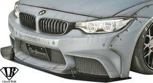 【M's】BMW F32 F33 4シリーズ (2013y-) Liberty Walk LB フロントバンパー / FRP 未塗装 リバティーウォーク リバティウォーク エアロ
