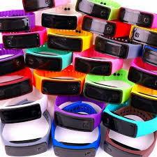 ★未使用 新品 まとめてセット LEDデジタルスポーツウォッチ シリコンラバー 超軽量 腕時計 男女兼用 メンズ レディース