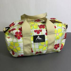 USA製 グレゴリー ポニーバッグ 花柄 スプリングフラワー gregory 旧タグ ボストンバッグ ダッフル