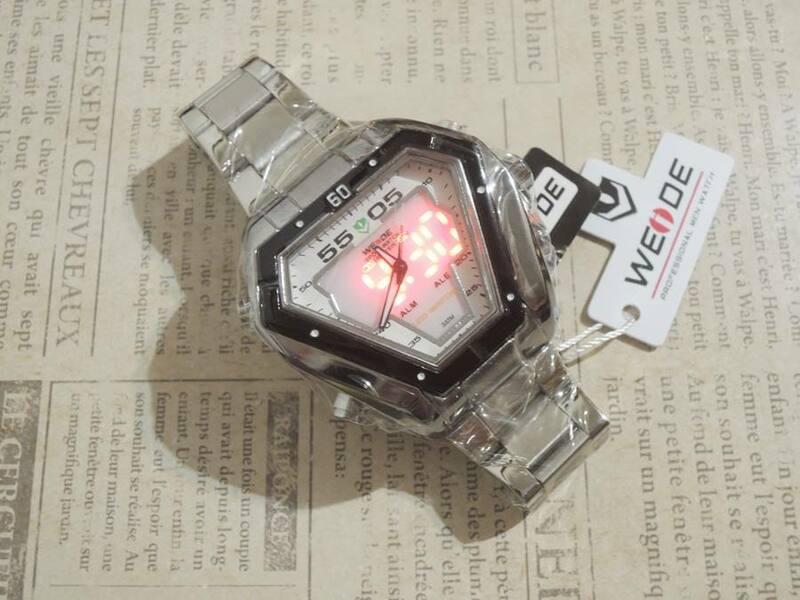 ◎ 新商品 WEIDE クオーツ 『デジアナ式』腕時計 ②