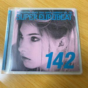 【美品】CD Super Eurobeat Vol.142 スーパーユーロビート avex trax