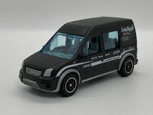 即決有★マッチボックス MATCHBOX Transit フォード トランジット コネクト 黒 パック バラ★ミニカー ルース