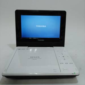 TOSHIBA 東芝 ポータブルDVDプレーヤー 7インチ REGZA SD-P710SL(S1018_8)