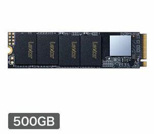 新品未開封 Lexar 内蔵SSD 500GB M.2 NM610 Type2280 PCIe3.0x4 NVMe LNM610-500RBJP 3年保証