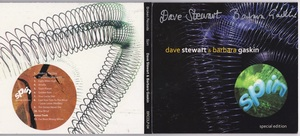 Dave Stewart And Barbara Gaskin - Spin (Special Edition) 直筆サイン入りボーナス・トラック1曲追加収録再発CD