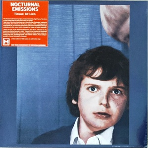 Nocturnal Emissions - Tissue Of Lies Record Store Day 2020 500枚限定再発ホワイト・カラー・アナログ・レコード