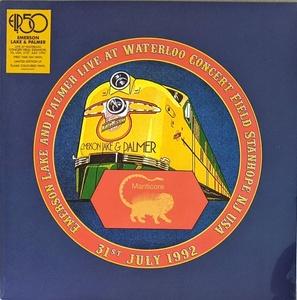 Emerson, Lake & Palmer - Live At Waterloo Concert Field Stanhope NJ USA 31st July 1992 2,500枚限定限定アナログ・レコード
