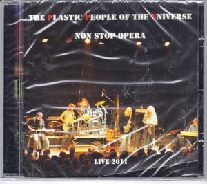 The Plastic People Of The Universe - Non Stop Opera (Live 2011) CD