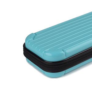 1500円~Nintendo Switch Lite ニンテンドー スイッチライト キャリングケース PPB素材 収納ケース 保護カバー 耐衝撃 防水 ブルー
