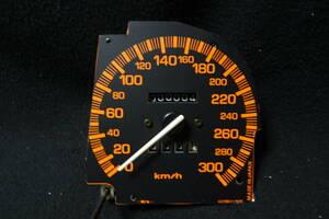 【マツダ】 RX-7 FC3S用(マイナー後) 300kmスピードメーター(管理:A)